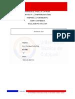 Universidad Técnica de Cotopaxi Computacion