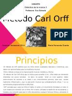 Metodo de enseñanza de Carl Orff