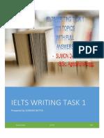 IELTS Writing 1