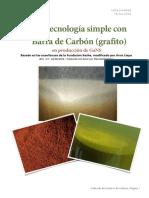 Tecnología de La Barra de Carbono (grafito) Producción de GaNS