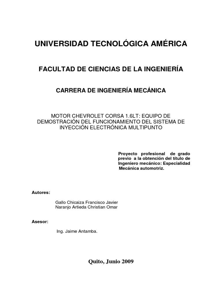 c0a4f178455 MECANICA Tipos de Inyeccion Doc