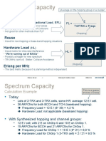 Formulas for Spectrum Capacity GSM