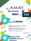 Camay Relaunch in Pakistan