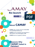 Camay Relaunch in Pakistan