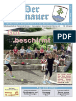 Der Bernauer - August 2016