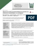 Adenoma de células de Sertoli bilateral en paciente con síndrome de insensibilidad a los andrógenos.pdf