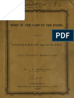 Bomb in the Camp of the Enemy