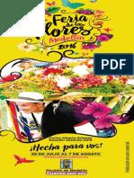 Programacion Feria de Las Flores de Medellin 2016