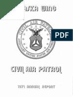 Alaska Wing - Annual Report (1971)