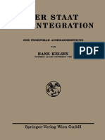 Hans Kelsen Der Staat Als Integration_ Eine Prinzipielle Auseinandersetzung-Springer Vienna (1930)
