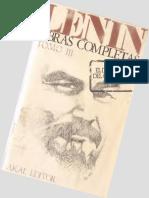 Obras completas de Lenin Tomo III