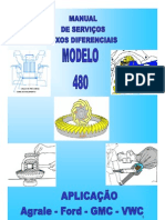 Manual Eje Diferencial DANA 480-284