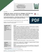 Cribado de cáncer cervical con citología y test del virus del papiloma humano cada 5 años, una realidad.pdf