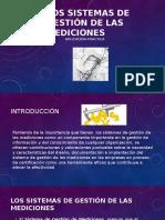 Los Sistemas de Gestión de Las Mediciones