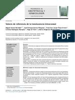 Valores de Referencia de La Translucencia Intracraneal