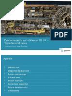 Drone Inspections in Maersk Oil UK