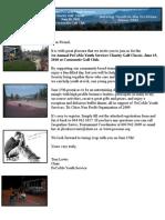 2010 PoCoMo Golf Tourny Sponsorship and Registration Package