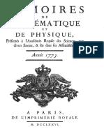 Coulomb 1773_Essai Sur Une Application