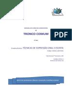 Módulo de Técnicas de Expressão Oral e Escrita