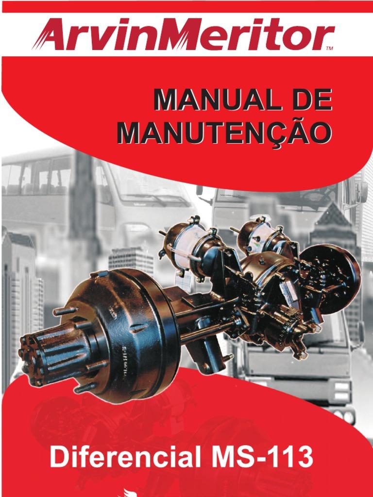 manual diferencial meritor ms 113 rh scribd com  manual diferencial meritor
