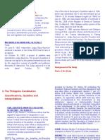 Constitutional Law General Principles