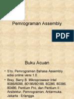 Pemrograman Assembler 1