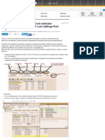 Basics of SAP Standard Cost estimate- Understan 1... | SCN