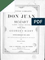 Mozart-Bizet - Don Giovanni Dalla Sua Pace