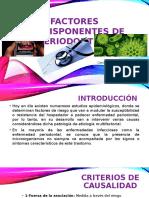 Factores Predisponentes de Periodontitis