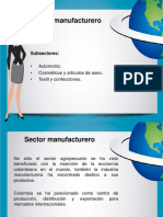 Sector Manufacturero