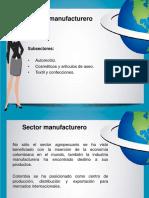 Sector Manufacturero