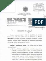 COMELEC RESOLUTION NO. 8944