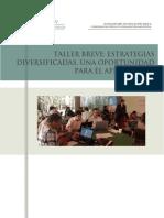Estrategias Diversificadas, Una Oportunidad Para El Aprendizaje