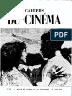 Cahiers du Cinéma n. 13