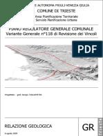 Gr - Relazione Geologica