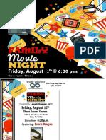 Family Movie Night 2016