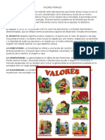 6 Valores Morales