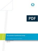 Potential of Geothermal Energy