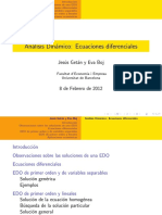 Análisis Dinámico - Ecuaciones Diferenciales 51.