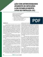 Automedicação Com Antimicrobianos Para o Tratamento de Infecções Urinária Em Estabelecimento Farmacêutico de Fortaleza (CE)