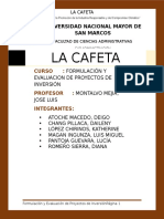 Proyecto Cafeteria