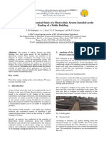 A Technical and Economical Study of a Photovoltaic System Installed on The