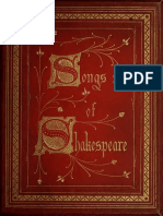 William Shakespeare ; H. C. Hoskyns Abrahall - Songs of Shakespeare, Illuminated (Songsofshakespea00shak)