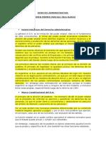 Resumen Derecho Administrativo Balbin Primer Parcial