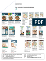 Australian Dietary Guidelines and Infant Feeding Guidelines