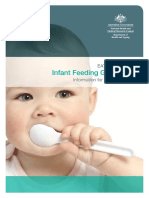 Infant Feeding Guidelines