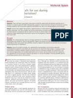 Artigo de Probiotico Na Gestacao e Lactacao