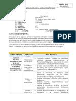 MAT - Planificación Unidad 6 - 3er Grado