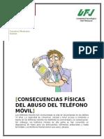 Consecuencias Fisicas Del Telefono Movil