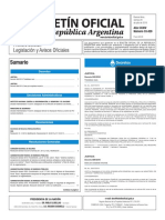 Boletín Oficial de la República Argentina, Número 33.429. 29 de julio de 2016